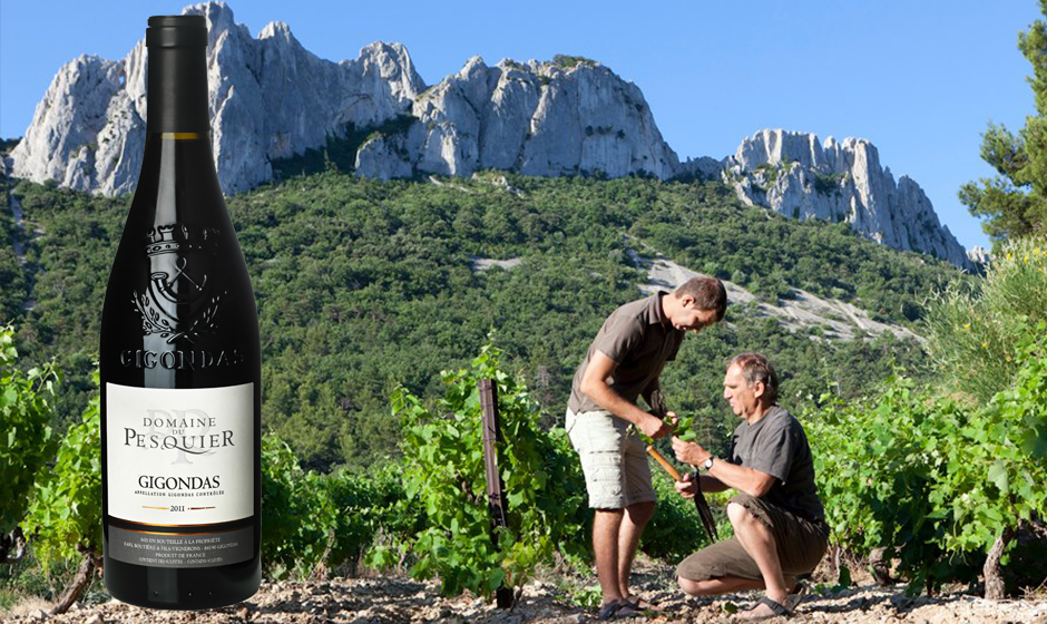 gigondas-domaine-du-pesquier-vinbanken-vinkoplistan