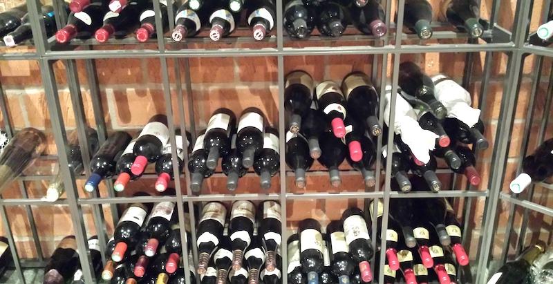 röda lagringsviner-vinbanken