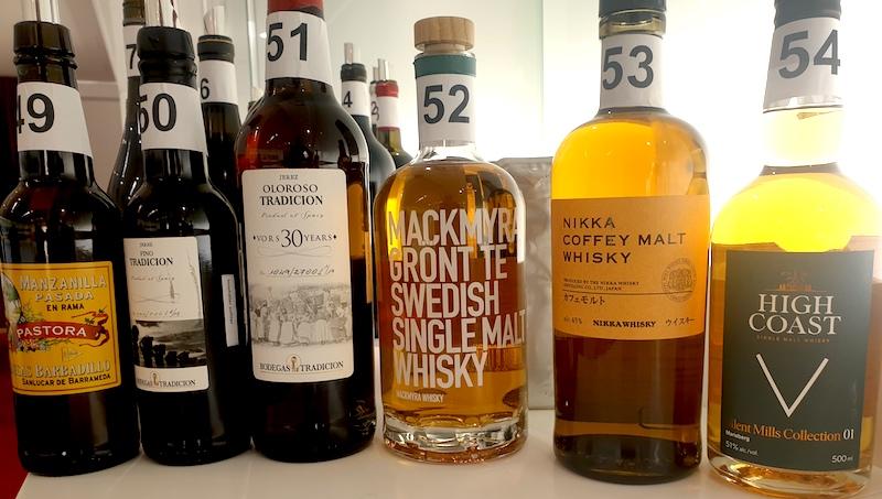 Recension tillfallig sherry och whisky 27 mars 2020-vinbanken