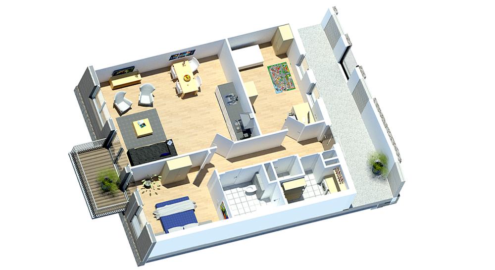 telgterpoort-appartement-nieuw