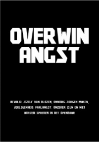 Cover Overwin Angst