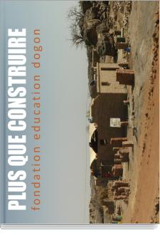 Cover Plus que construire - Fondation Education Dogon