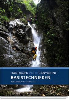 Cover Handboek voor canyoning | basistechnieken