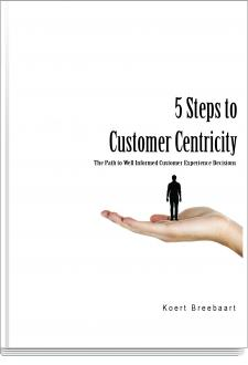 Cover 5 Steps to Customer Centricity
