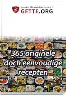 Boek gette.org : 365 originele doch eenvoudige recepten