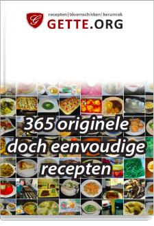 Cover 365 originele doch eenvoudige recepten (budget)