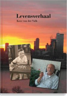 Cover Levensverhaal  Kees van der Valk
