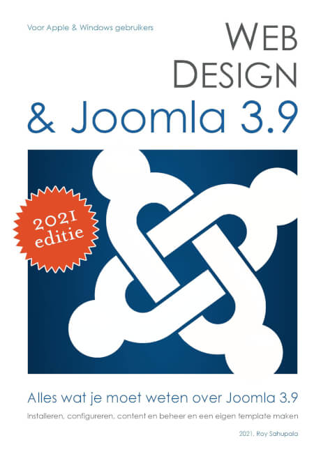 Cover Webdesign en Joomla 3.8