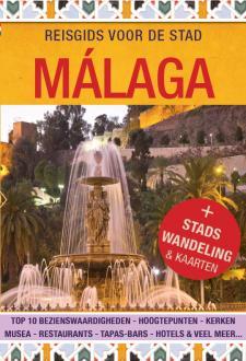 Cover Reisgids voor de stad Malaga