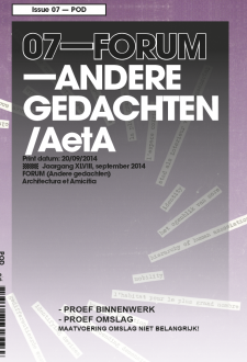 Cover 07-FORUM - September 2014 NL
