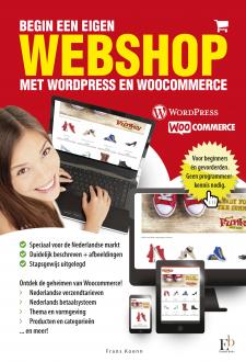 Cover Begin een eigen webshop met Wordpress en Woocommerce