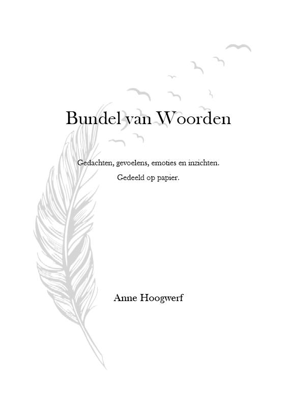 Cover Bundel van Woorden