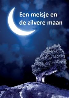 Cover een meisje en de zilvere  maan