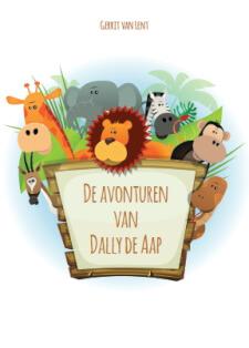 Cover De avonturen van Dally de Aap.
