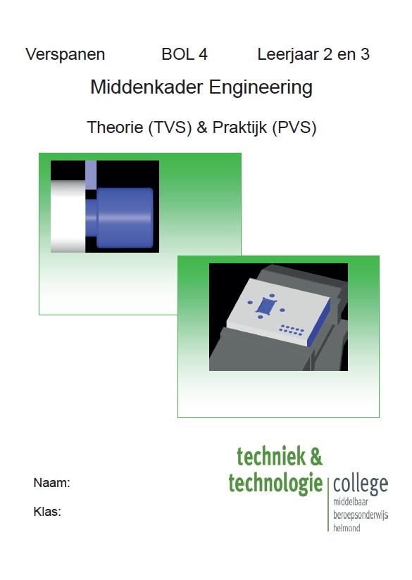 Cover Verspanen BOL4 leerjaar 2 en 3