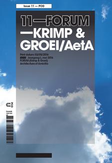 Cover 11-FORUM - Krimp en groei