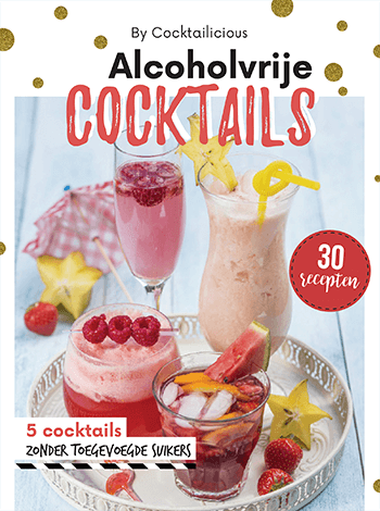 Cover Alcoholvrije Cocktails iPad editie