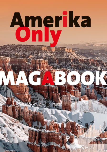 Cover Amerika Only Magabook   Winter 2016 (Cover: Bryce Canyon)
