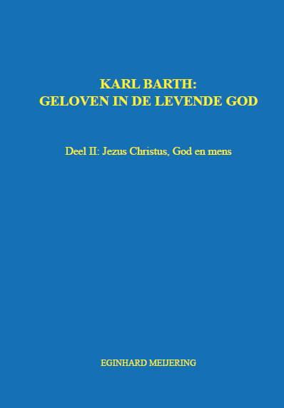 Cover KARL BARTH: Deel II
