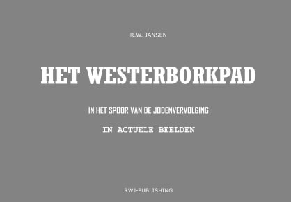 Cover Het Westerborkpad (paperback, zwart wit uitgave)