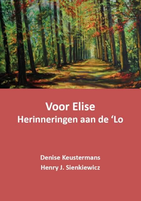 Cover Voor Elise Herinneringen aan de 'Lo
