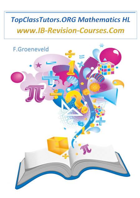 Cover TopClassTutors.ORG International Math HL Revision Guide