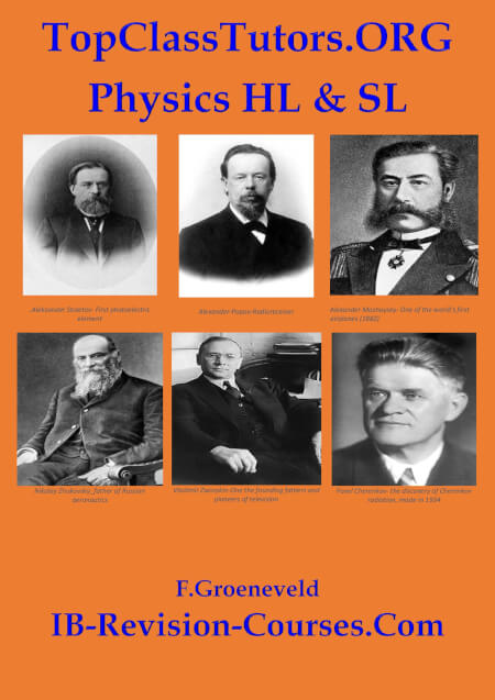 Cover TopClassTutors.ORG International PHYSICS HL/SL Revision Guide www.IB-REVISION-COURSES.COM
