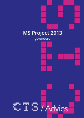 Cover MS  Project 2013 gevorderd