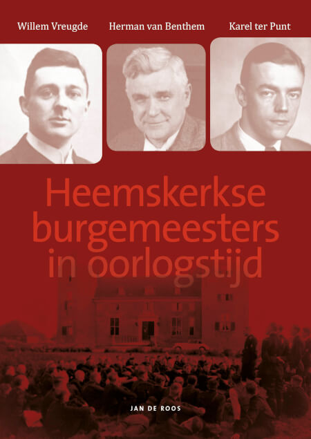 Cover Heemskerkse burgemeesters in oorlogstijd - Zwart-wit