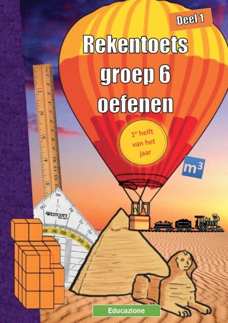 Cover Rekentoets Groep 6 Oefenen Deel 1