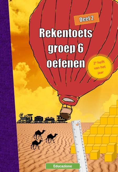 Cover Rekentoets Groep 6 Oefenen Deel 2