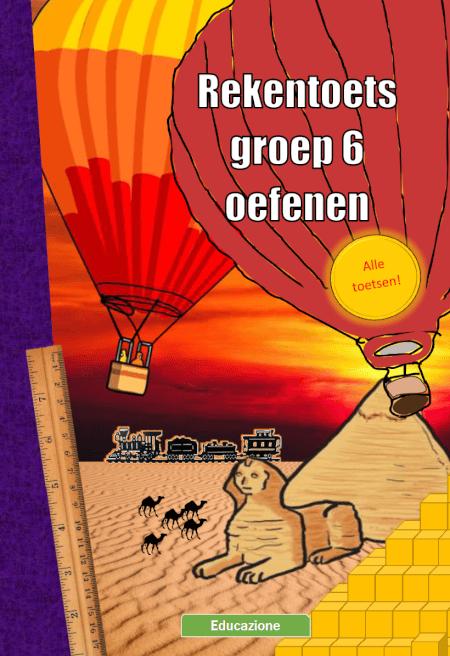 Cover Rekentoets Groep 6 Oefenen Deel 1 en 2