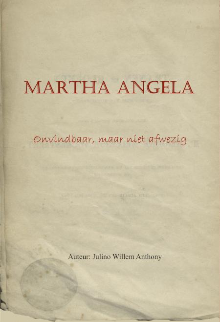 Cover Martha Angela