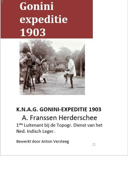 Cover Gonini Expeditie 1903