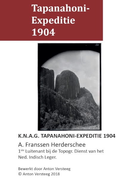 Cover Tapanahoni expeditie 1904