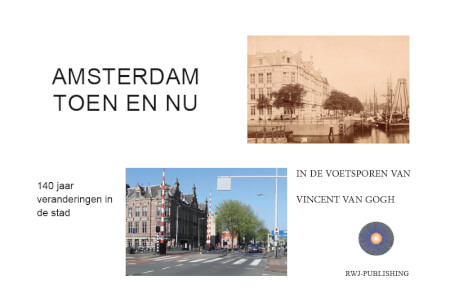 Cover Amsterdam Toen en Nu.