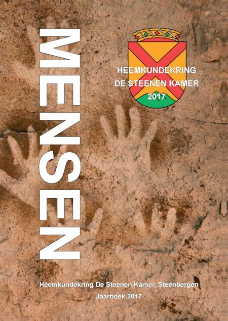 Cover Heemkundekring De Steenen Kamer jaarboek 2017 Mensen (harde kaft)