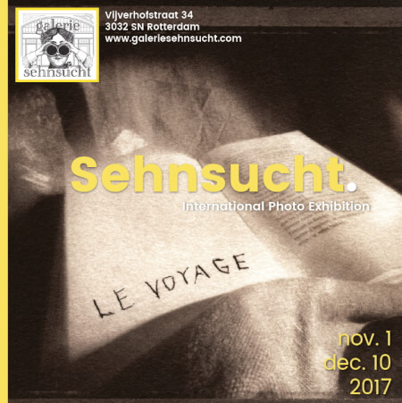 Cover Catalogue Sehnsucht Exhibition