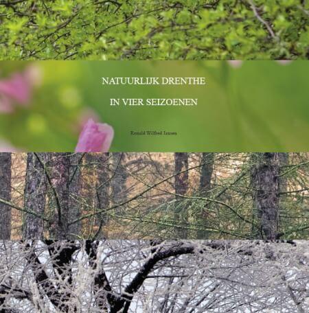 Cover Natuurlijk Drenthe. In vier seizoenen. Fotoboek.