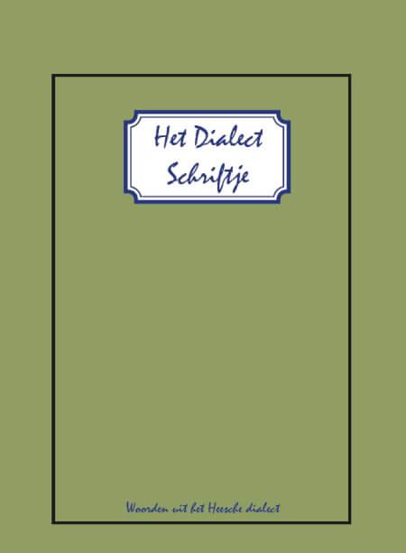 Cover Het Dialect Schriftje