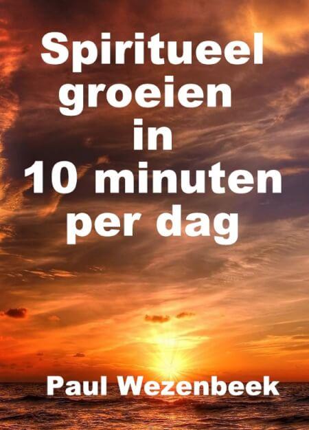 Cover Spiritueel groeien in 10 minuten per dag