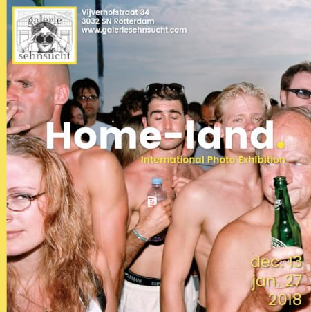 Cover Catalogue Home-land Exhibition - Galerie Sehnsucht