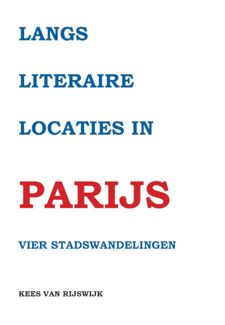 Cover Langs literaire locaties in Parijs
