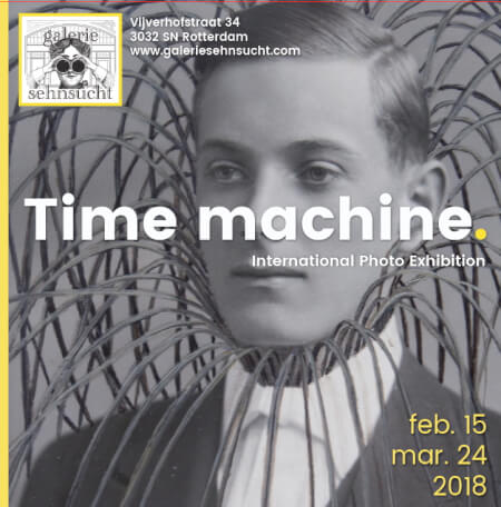 Cover Catalogue Time machine Exhibition