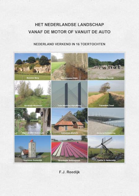 Cover Het Nederlandse Landschap vanaf de motor of vanuit de auto