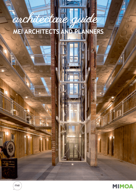 Cover MIMOA Architecture guide - mei architects and planners