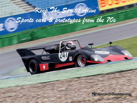Cover Keep The Spirit Alive Sports Cars and Prototypes from the 70s