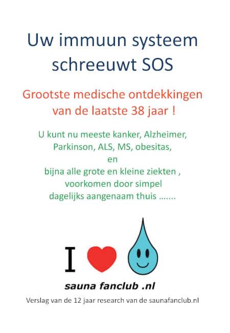 Cover Uw immuun systeem schreeuwt SOS !