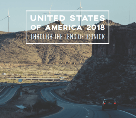 Cover United States of America 2018 Through the Lens of Iconick