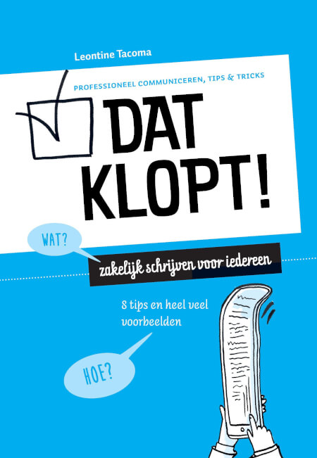 Cover Dat klopt!